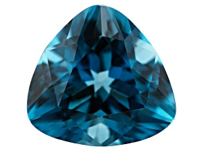 1.70ct min wt. London Blue Topaz 8mm Triangle
