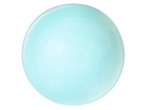 8.97ct Sleeping Beauty Turquoise 14mm Round
