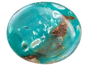 Turquoise 12x10mm Oval Cabochon
