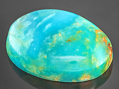 Turquoise 14x10mm Oval Cabochon