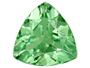 Green Garnet Tsavorite 6.5mm Trillion.75ct