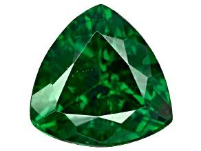 Green Garnet Tsavorite 5.5mm Trillion .40ct