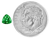 Green Garnet Tsavorite 5mm Trillion .50ct
