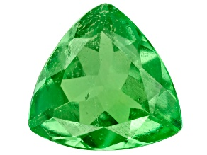 Green Garnet Tsavorite 4.3mm Trillion .20ct