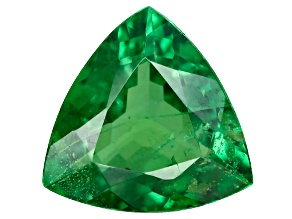 Green Garnet Tsavorite 7mm Trillion 1.05ct