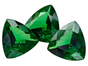 Green Garnet Tsavorite 6.5mm Trillion 2.11ct