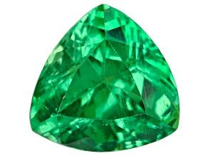Green Garnet Tsavorite 6.5mm Trillion 1.36ct