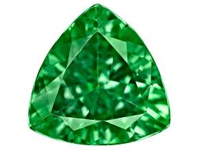 Green Garnet Tsavorite 7mm Trillion 1.00ct