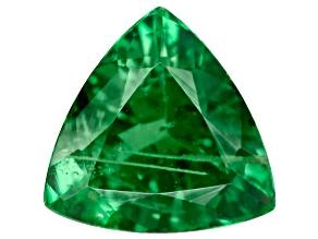 Green Garnet Tsavorite 6mm Trillion .55ct