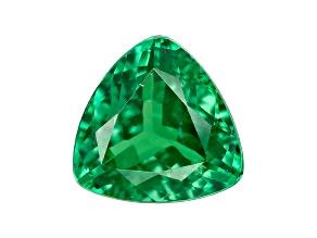 Green Garnet Tsavorite 6.4mm Trillion .95ct