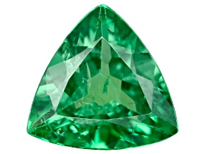 Tsavorite Garnet 6.3mm Trillion 0.76ct