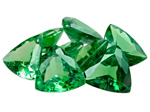 Tsavorite Garnet 4.8mm Trillion Set of 8 2.50ctw