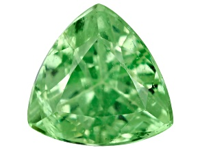 Green Garnet Tsavorite 4mm Trillion .20ct