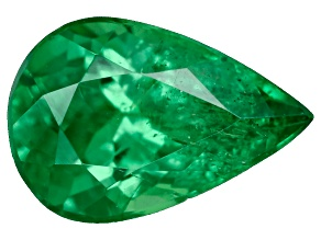 Green Garnet Tsavorite 6x4mm Pear .33ct