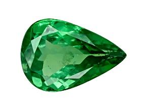 Tsavorite Garnet .50ct Min Pear Mined: Tanzania / Cut: india