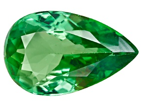 Green Garnet Tsavorite 8x5mm Pear .65ct