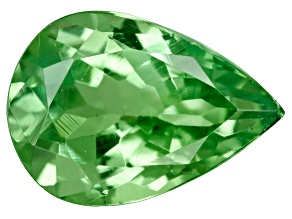 Green Garnet Tsavorite 7x5mm Pear .50ct