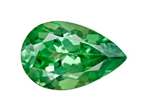 Green Garnet Tsavorite 8x5mm Pear .75ct