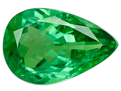 Green Garnet Tsavorite Pear 1.00ct