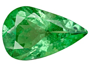 Green Garnet Tsavorite 9.0x5.8mm Pear 1.21ct