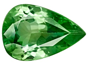 Green Garnet Tsavorite 9x6mm Pear 1.16ct