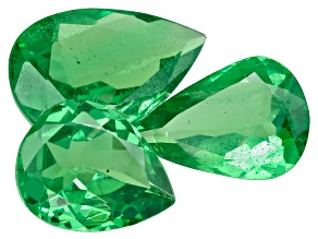 Green Garnet Tsavorite Pear 1.86ct