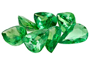 Green Garnet Tsavorite Pear 2.32ct