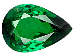 Green Garnet Tsavorite 9.85x6.71mm Pear 1.80ct
