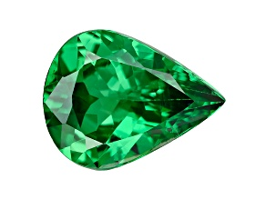 Green Garnet Tsavorite 9x7mm Pear 1.42ct