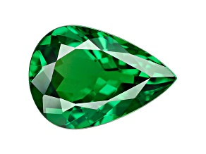 Green Garnet Tsavorite 8.8x6.2mm Pear 1.38ct
