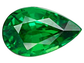 Green Garnet Tsavorite 8.5x5.5mm Pear 1.43ct