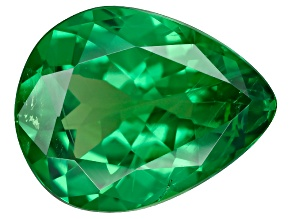 Green Garnet Tsavorite 9.5x8.4mm Pear 1.33ct