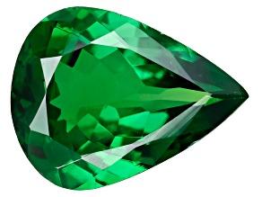 Green Garnet Tsavorite 8x6mm Pear 1.00ct
