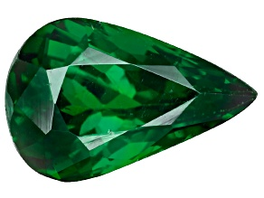 Green Garnet Tsavorite 8.9x5.8mm Pear 1.48ct