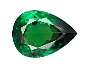 Green Garnet Tsavorite 8.3x6.3mm Pear 1.34ct