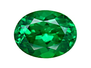 Green Garnet Tsavorite 8x6mm Oval 1.52ct