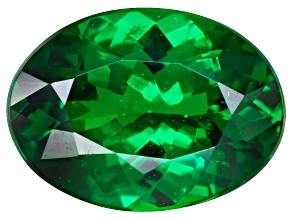 Green Garnet Tsavorite 7.8x5.7mm Oval 1.12ct