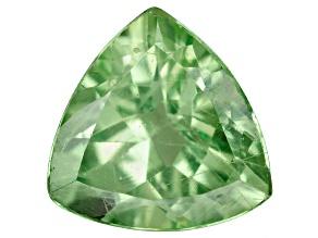 Green Garnet Mint Tsavorite 5.5mm Trillion .45ct