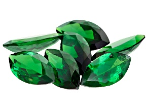 Tsavorite Garnet 8x4mm Marquise Set of 7 3.37ctw