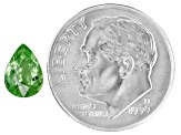 Green Garnet Mint Tsavorite mm Varies Pear Shape 1.00ct