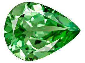 Green Garnet Mint Tsavorite 9x7mm Pear Shape 1.55ct