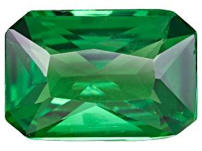 Green Garnet Tsavorite 7.5x4.5mm Emerald Cut .65ct