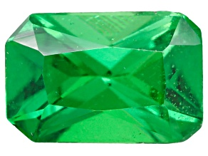 Tsavorite Garnet 6x4mm Rectangular Octagonal Radiant Cut 0.50ct