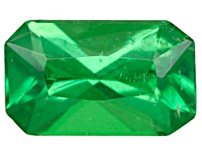 Green Garnet Tsavorite 5x3mm Emerald Cut .20ct
