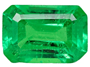 Tsavorite Garnet 6x4mm Emerald Cut 0.50ct