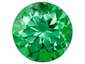 Green Garnet Tsavorite 4mm Round .25ct