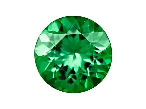 Green Garnet Tsavorite 5mm Round .40ct