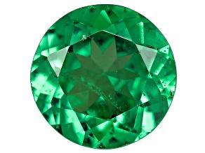 Green Garnet Tsavorite 5.5mm Round .55ct