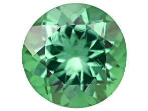 Green Garnet Tsavorite 5mm Round .40ct