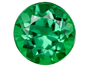 Green Garnet Tsavorite 4mm Round .30ct